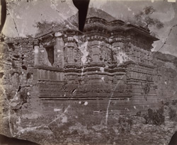 General view from the side of the Shringara Chauri Temple, Chittaurgarh [Chitorgarh]